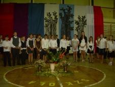 uroczystości 2010/2011